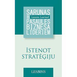Īstenot stratēģiju
