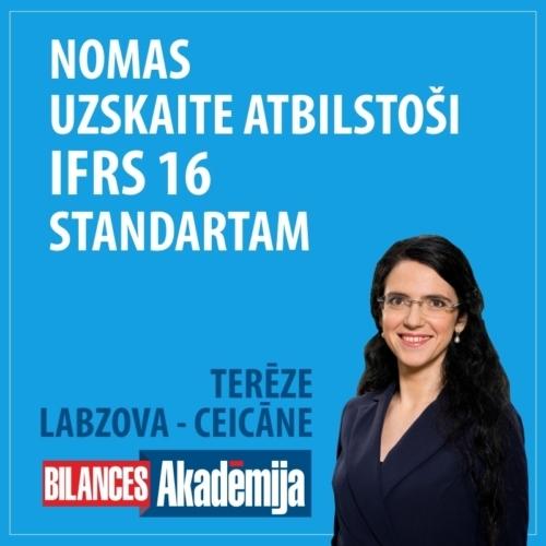 Nomas uzskaite atbilstoši IFRS 16 standartam