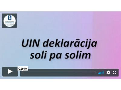 UIN deklarācija 2018