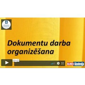 Dokumentu darba organizēšana