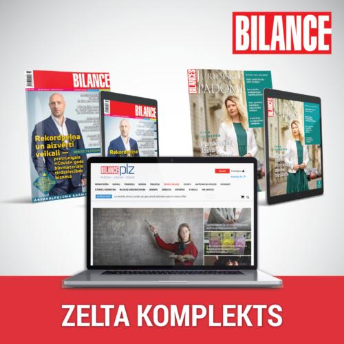 foto BILANCES ZELTA KOMPLEKTS