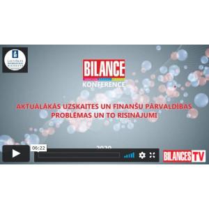 Bilances konferences videoieraksts