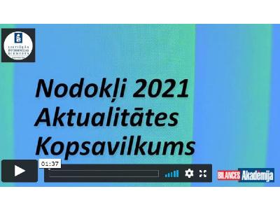 Nodokļi 2021