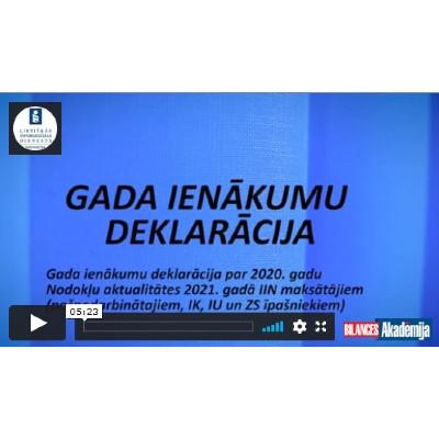 gada ienākumu deklarācija